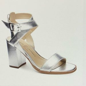 Chinese Laundry Sitara Silver Heels